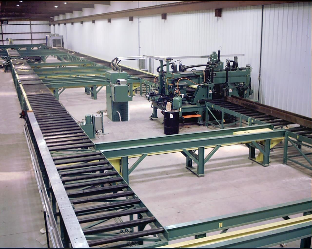 Franklin Manufacturing Cnc Beam Drill Line