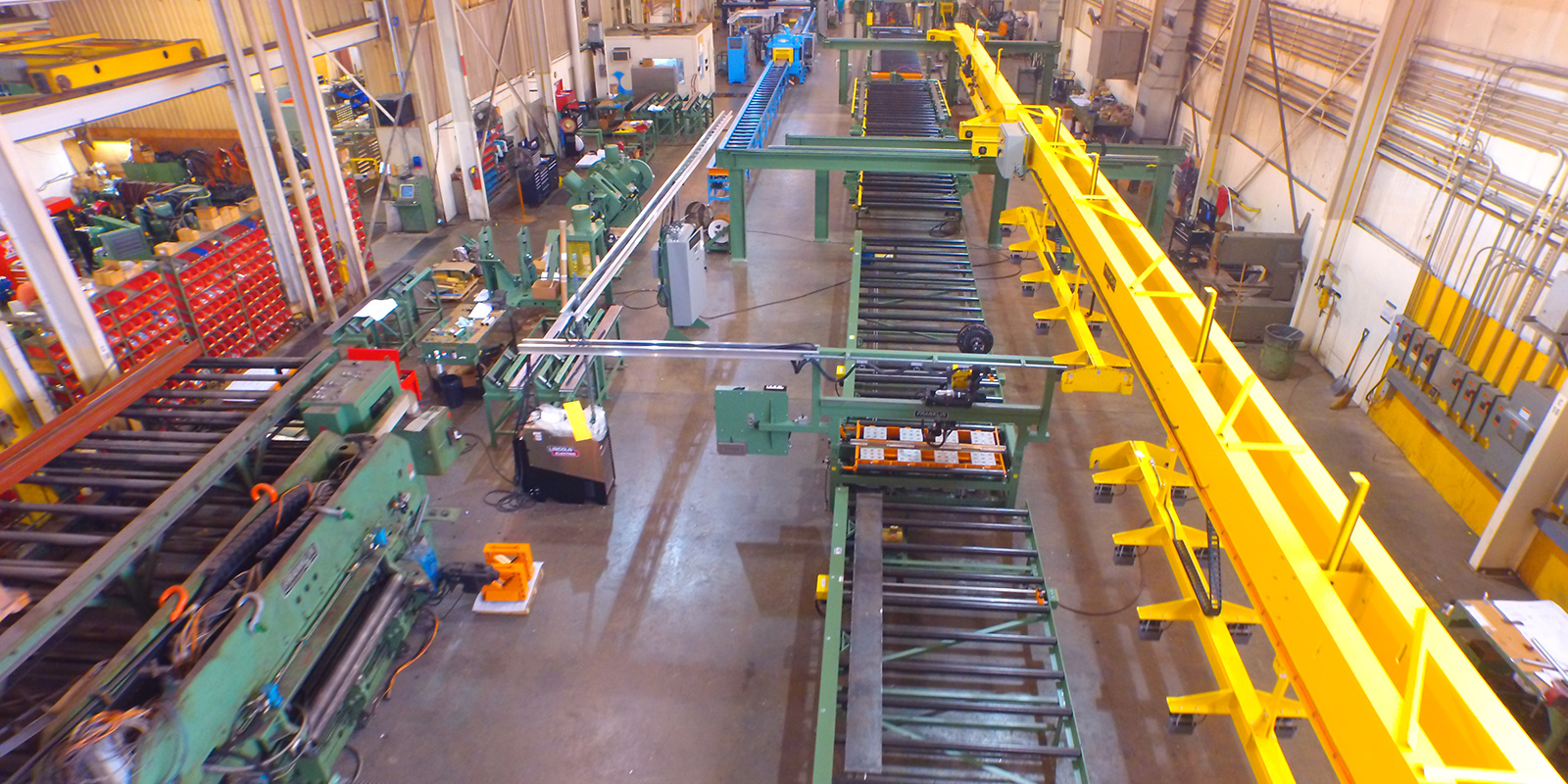 Extensive Experience in Steel Fabricating Equipment
